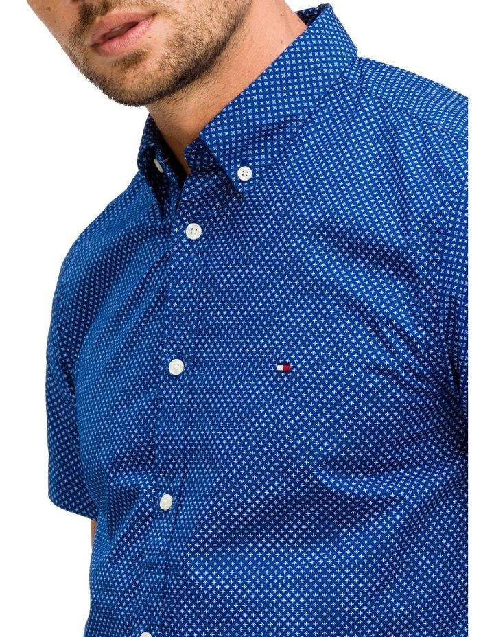 WCC Slim Star Print Short Sleeve Shirt image 3