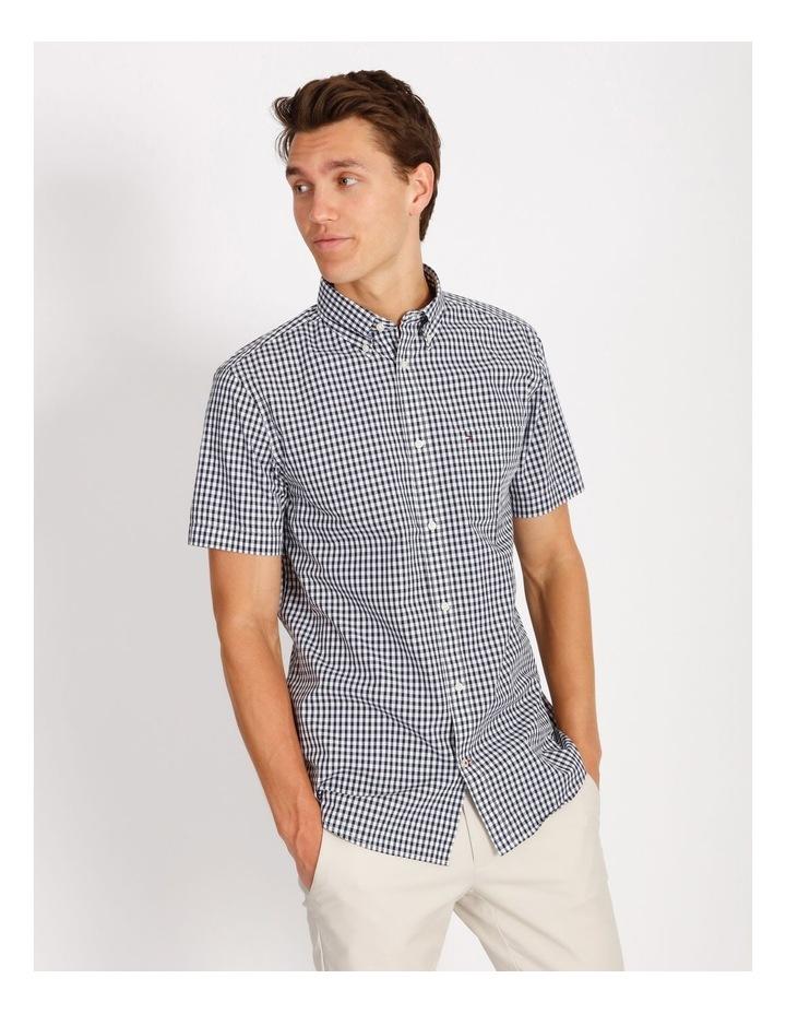 Wcc Custom Gingham Short Sleeve Shirt image 1