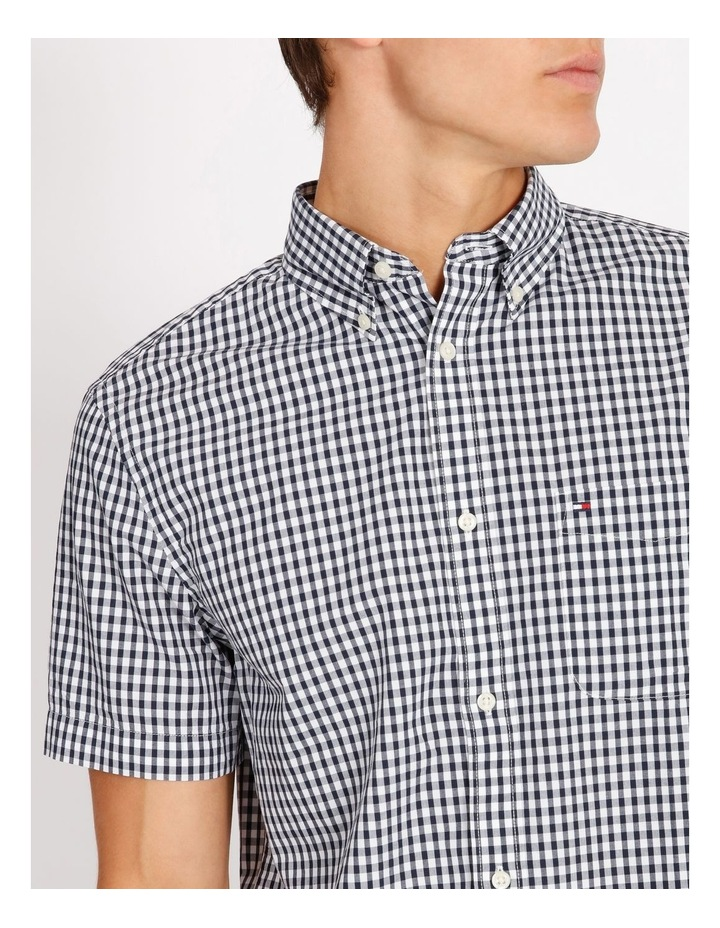 Wcc Custom Gingham Short Sleeve Shirt image 4