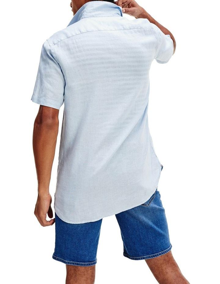 Short Sleeve Pure Linen Shirt image 4