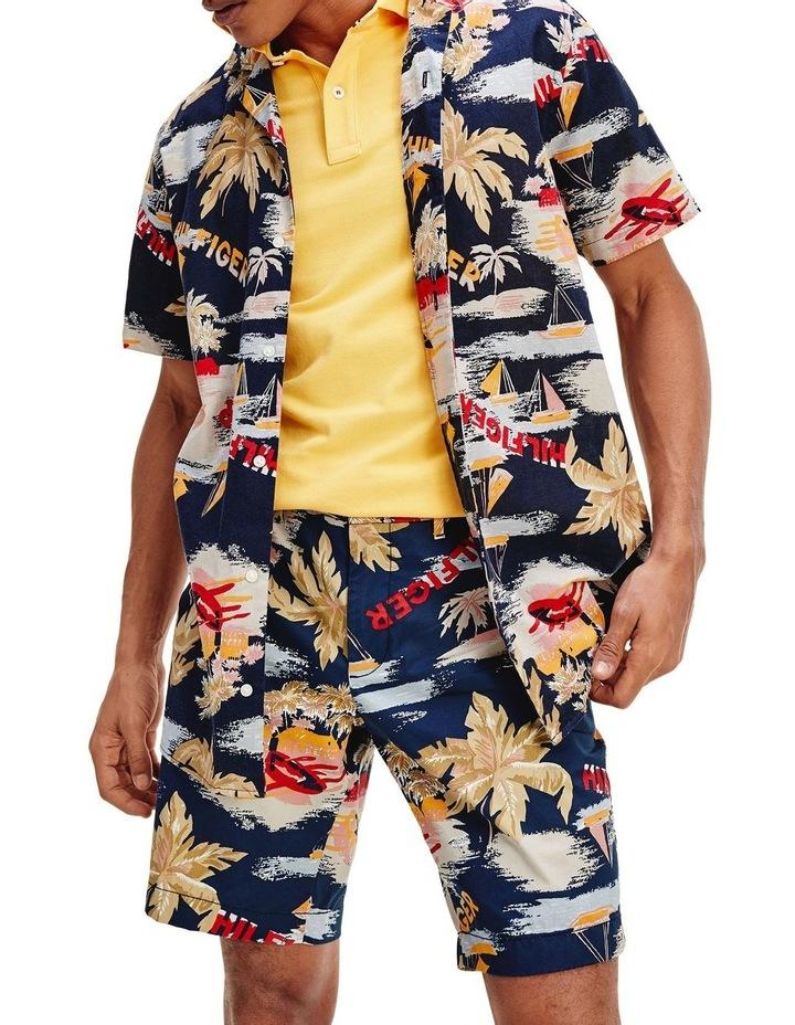 Tropical Print Short Sleeve Shirt image 5