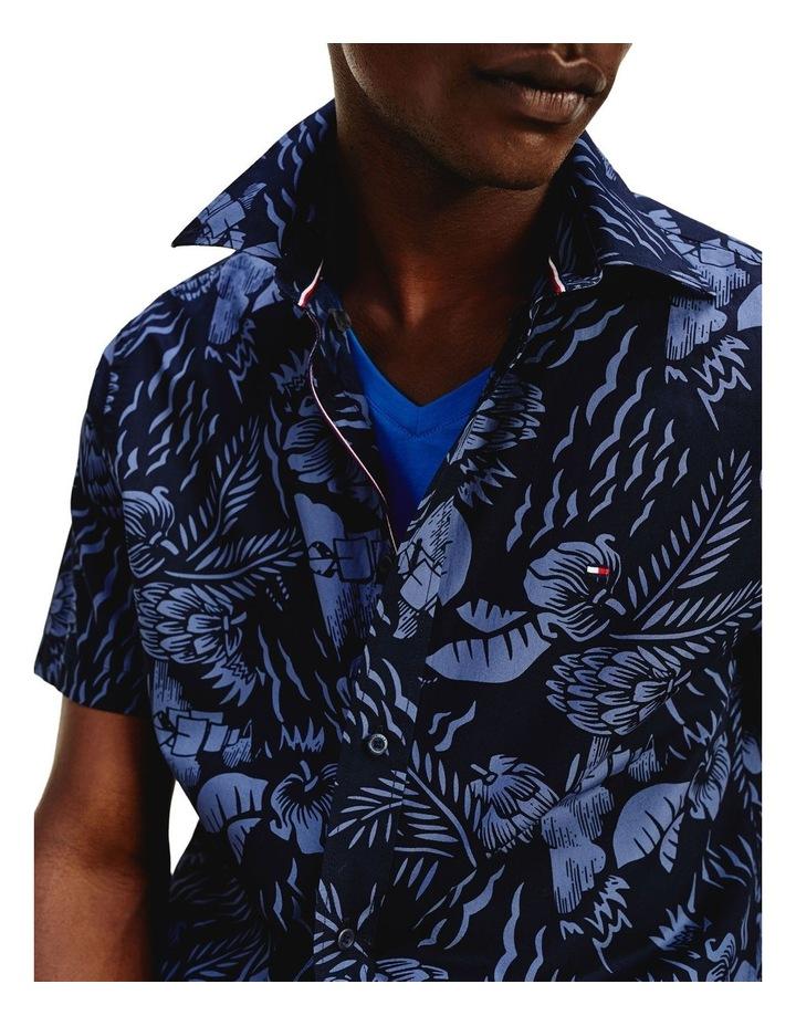Tropical Print Short Sleeve Shirt image 6
