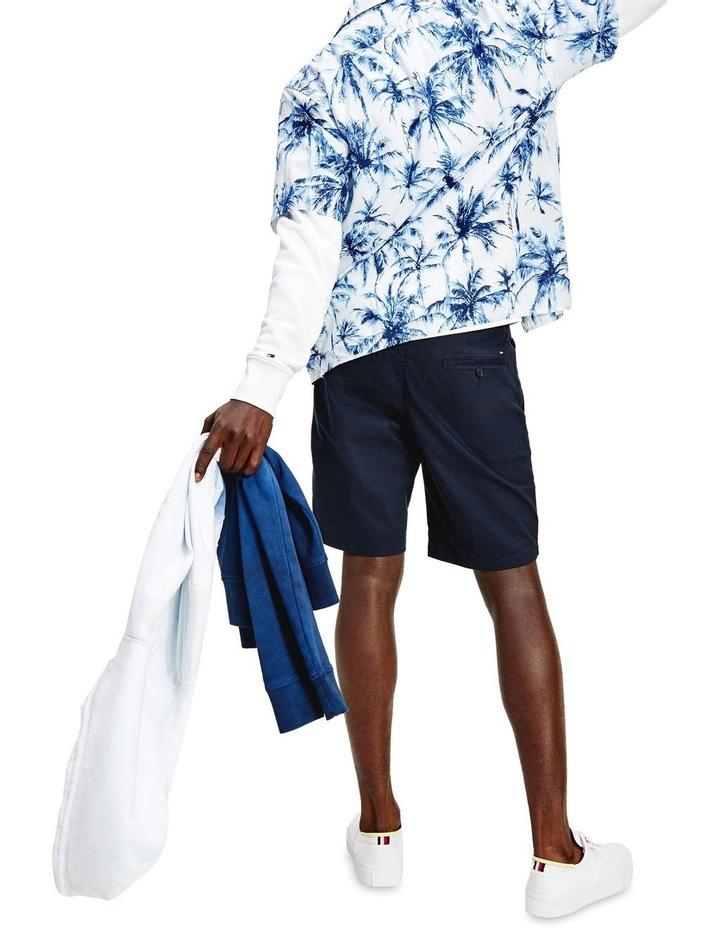 Large Water Colour Palm Short Sleeve Shirt image 3