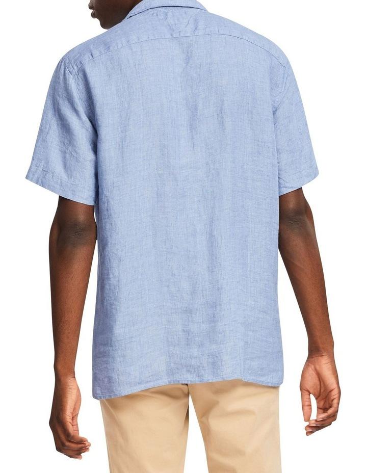 Pigment Dyed Linen Camp Short Sleeve Shirt image 2