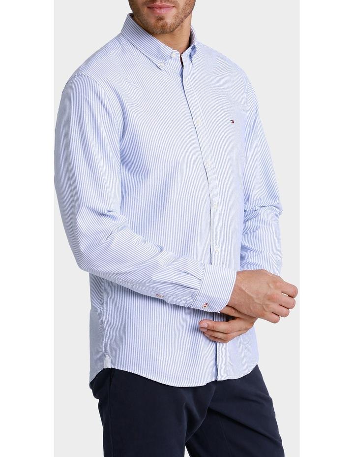 Stretch Slim Stripe Shirt image 2