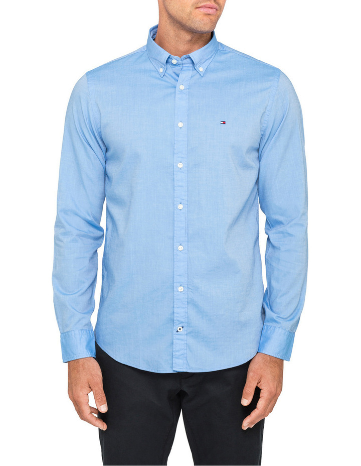 65343967 Tommy Hilfiger | Two Tone Dobby Shirt | MYER