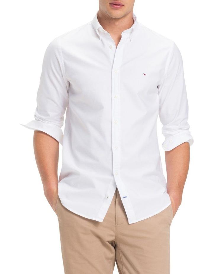 9abdbfcd8a8 Stretch Slim Oxford Shirt image 1