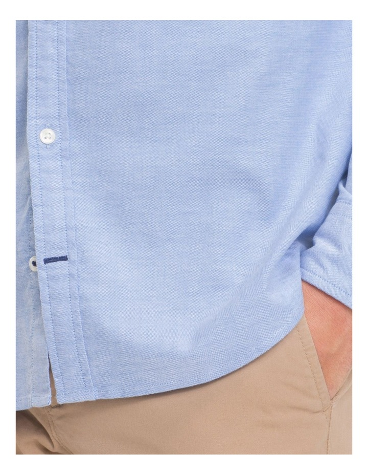 Stretch Slim Oxford Shirt image 3