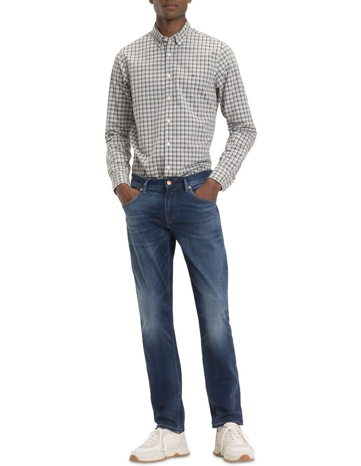 Slim Mid Scale Check Long Sleeve Shirt image 1