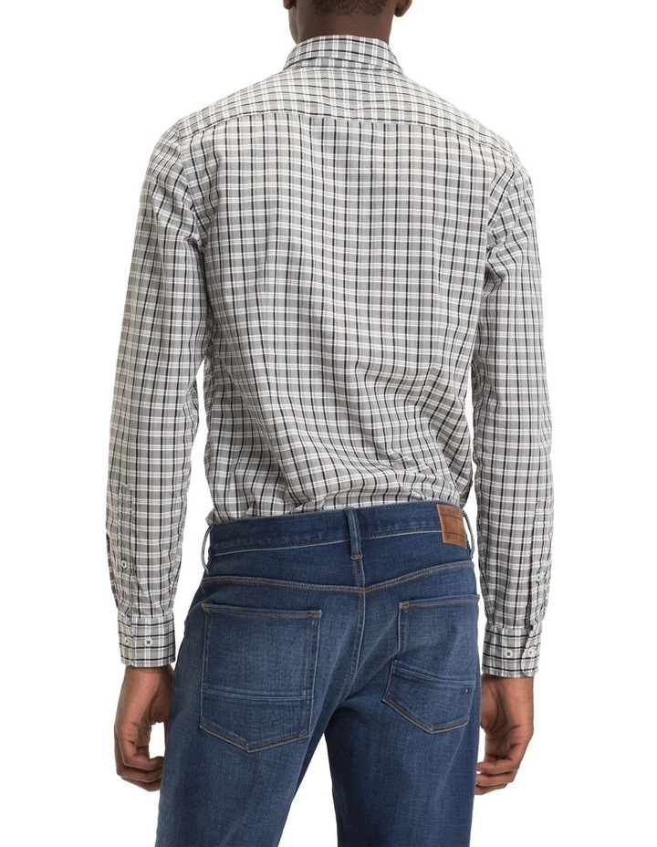 Slim Mid Scale Check Long Sleeve Shirt image 3