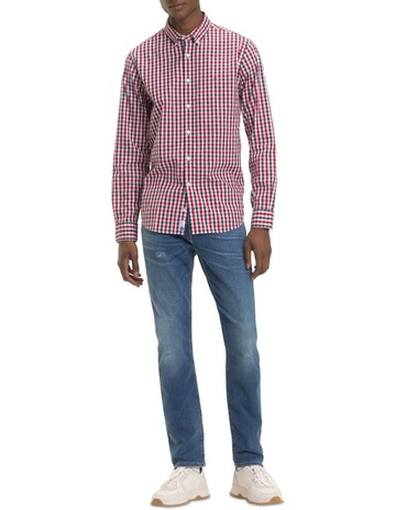 50598917c Tommy Hilfiger Heather Gingham Shirt