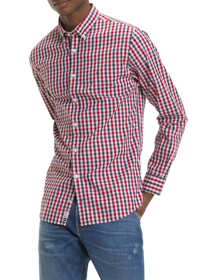 Heather Gingham Shirt image 2