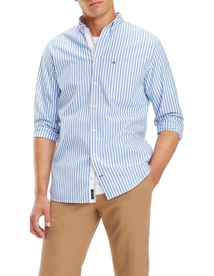 Essential Pure Cotton Stripe Shirt image 1