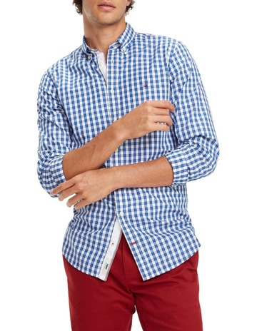 2355c629 Tommy Hilfiger Gingham Check Cotton Shirt