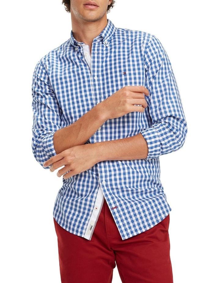 Gingham Check Cotton Shirt image 1