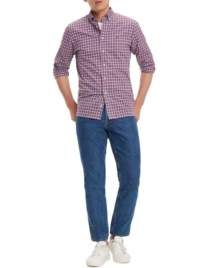 Essential Micro Check Cotton Shirt image 3