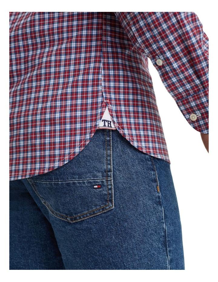 Essential Micro Check Cotton Shirt image 4