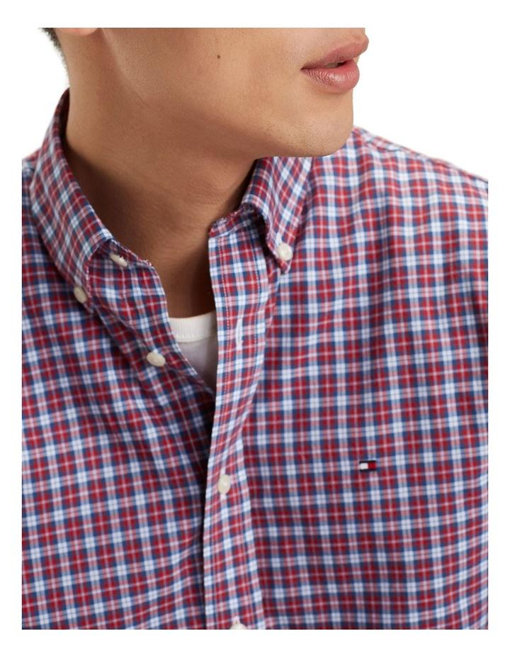 Essential Micro Check Cotton Shirt image 5