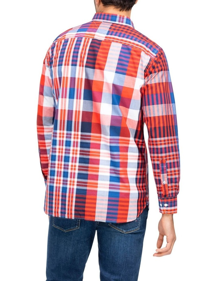 Relaxed Extra Large Check Long Sleeve Shirt image 2