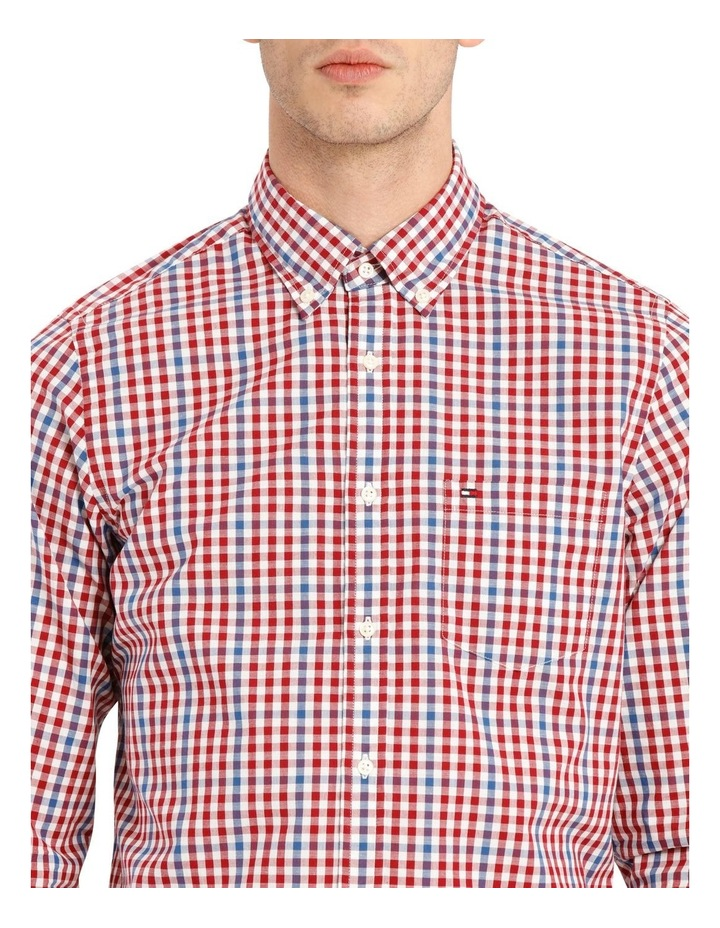 Wcc Multi Gingham Check Long Sleeve Shirt image 4