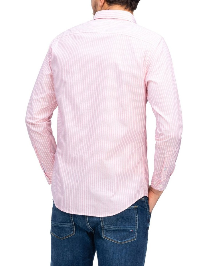 Slim Fil A Fil Stripe Long Sleeve Shirt image 2