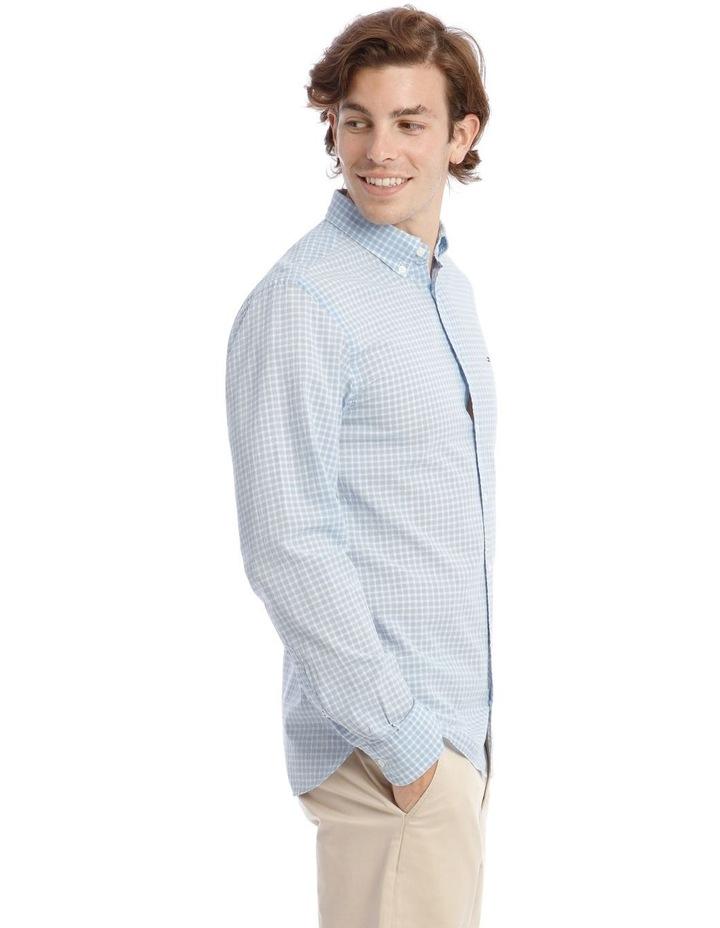Wcc Crepe Poplin Check Long Sleeve Shirt image 2
