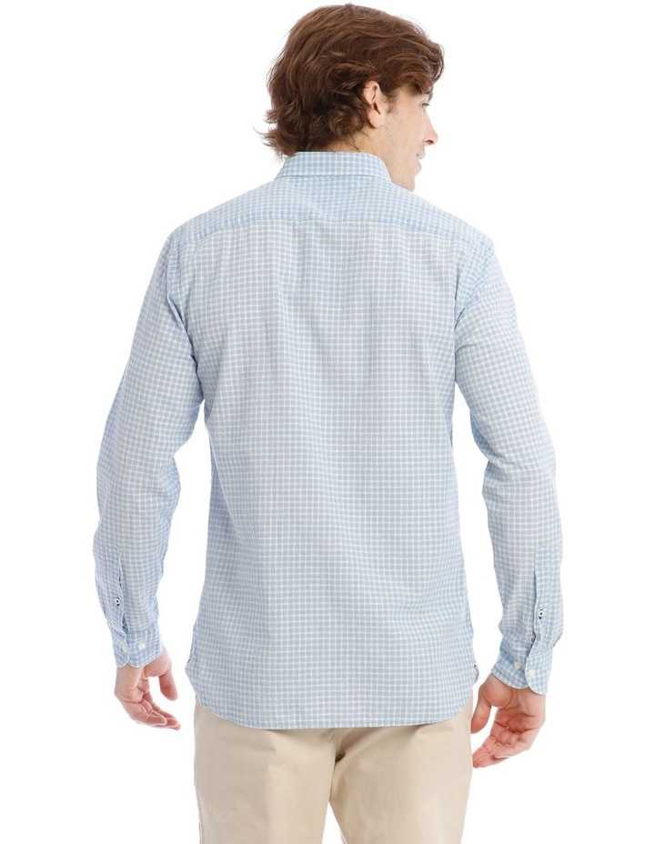 Wcc Crepe Poplin Check Long Sleeve Shirt image 3