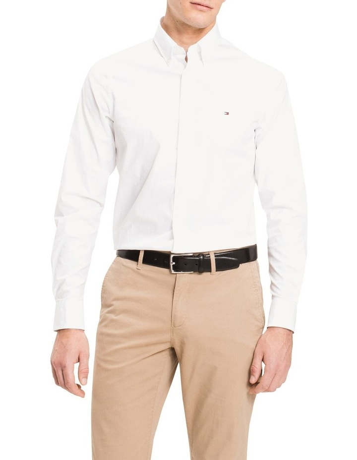 Core Stretch Slim Poplin Long Sleeve Shirt image 1