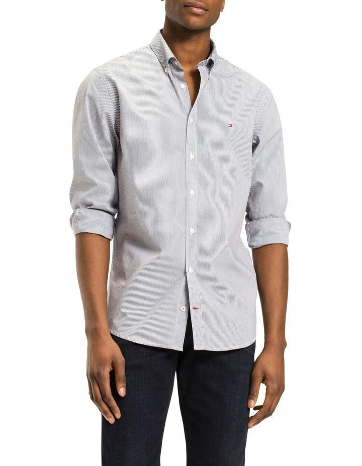 Core Stripe Long Sleeve Shirt image 1