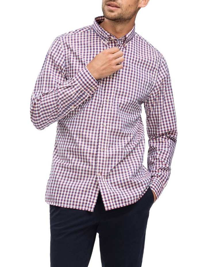 WCC Multi Gingham Long Sleeve Shirt image 1