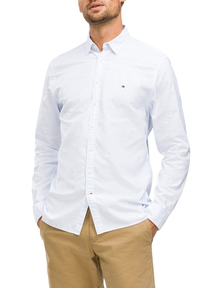 WCC Allover Embroidery Long Sleeve Shirt image 1