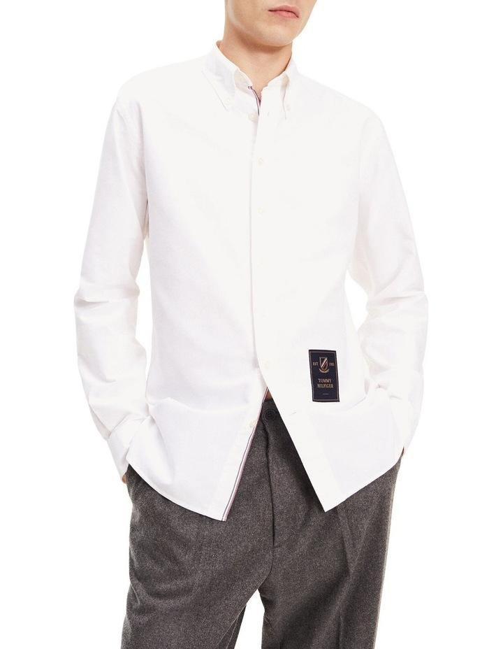 Crest Label Regular Fit Cotton Shirt image 1