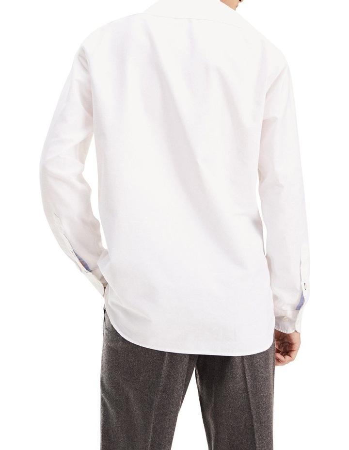 Crest Label Regular Fit Cotton Shirt image 2