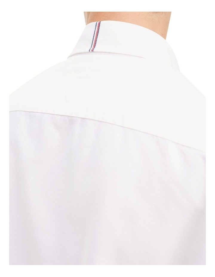 Crest Label Regular Fit Cotton Shirt image 3