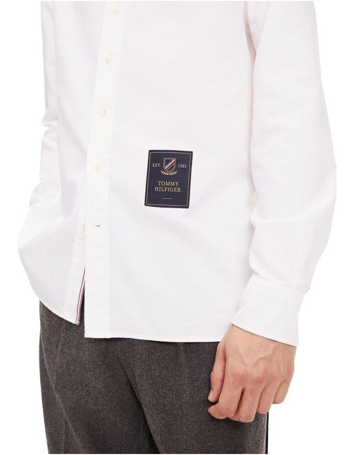 Crest Label Regular Fit Cotton Shirt image 4