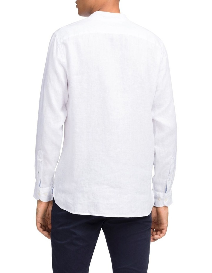 Solid Linen Long Sleeve Shirt image 2