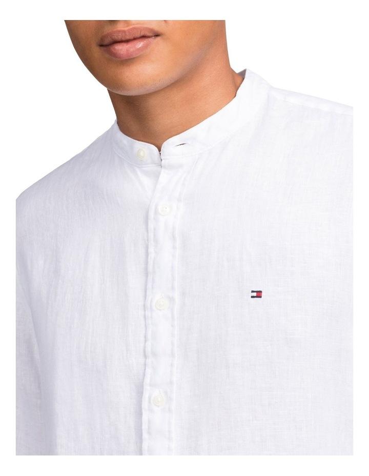 Solid Linen Long Sleeve Shirt image 3