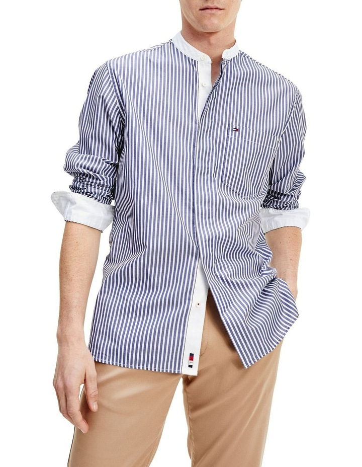 Stripe Relaxed Fit Shirt image 1