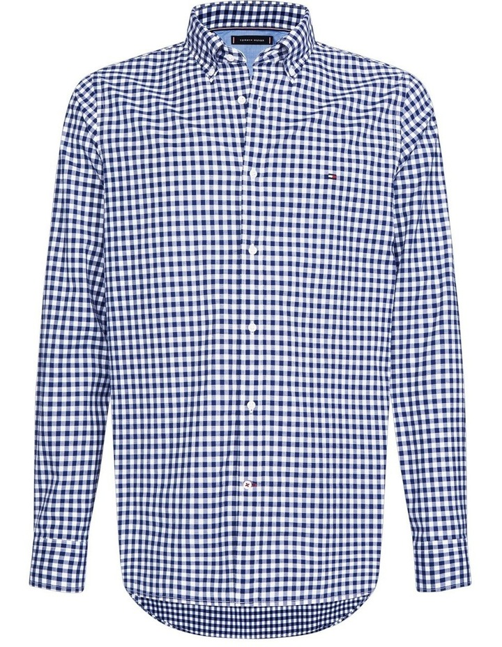 Gingham Check Slim Fit Shirt image 1