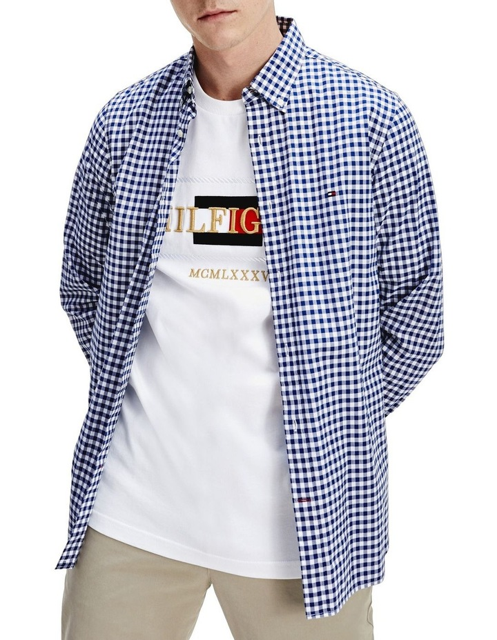 Gingham Check Slim Fit Shirt image 5