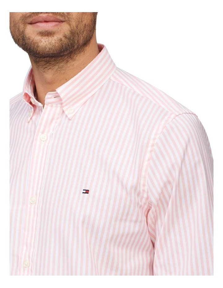 Stripe Soft Touch Slim Fit Shirt image 2