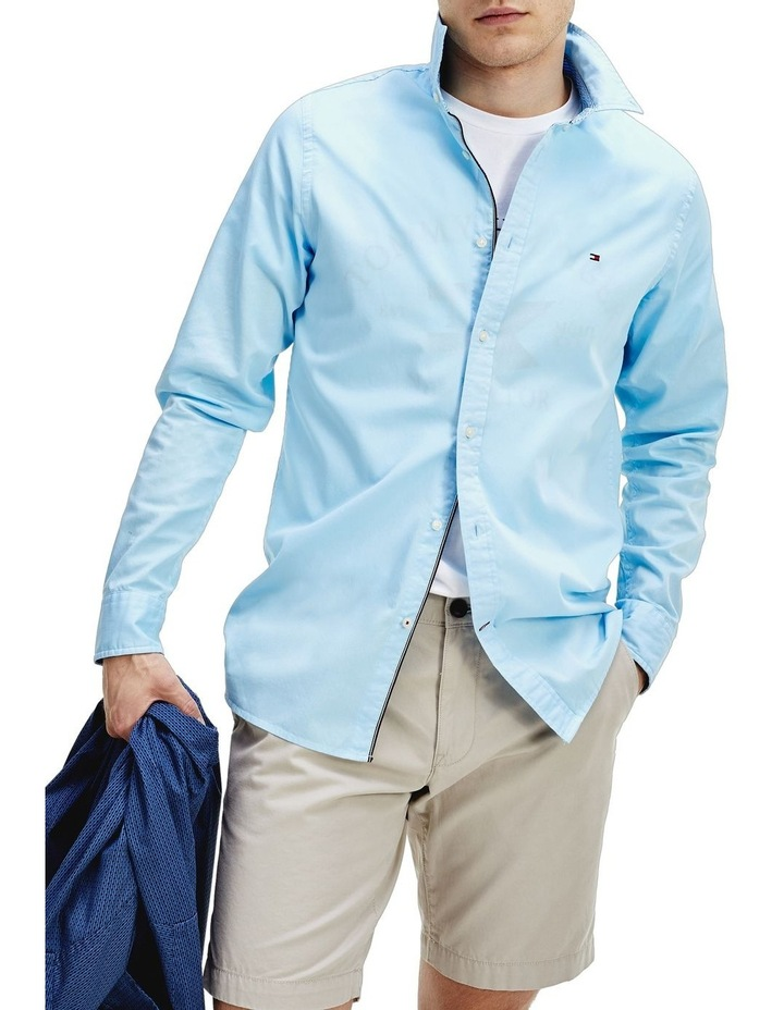Garment Dyed Slim Fit Shirt image 1
