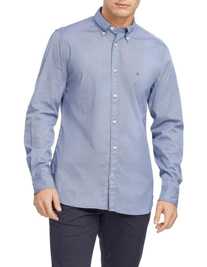 Mini Print Long Sleeve Shirt image 1