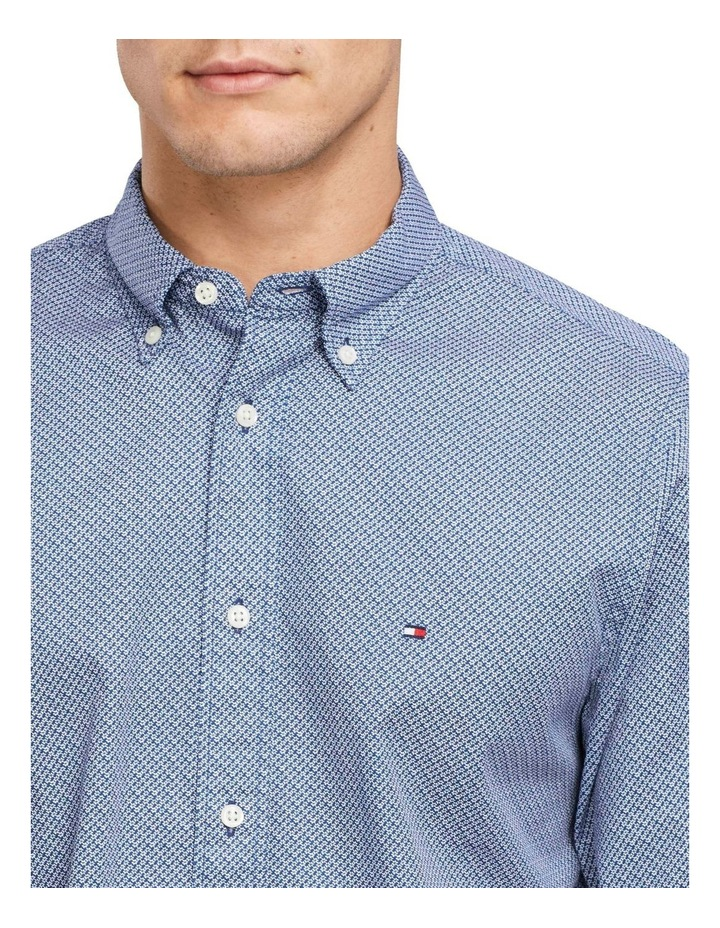 Mini Print Long Sleeve Shirt image 3