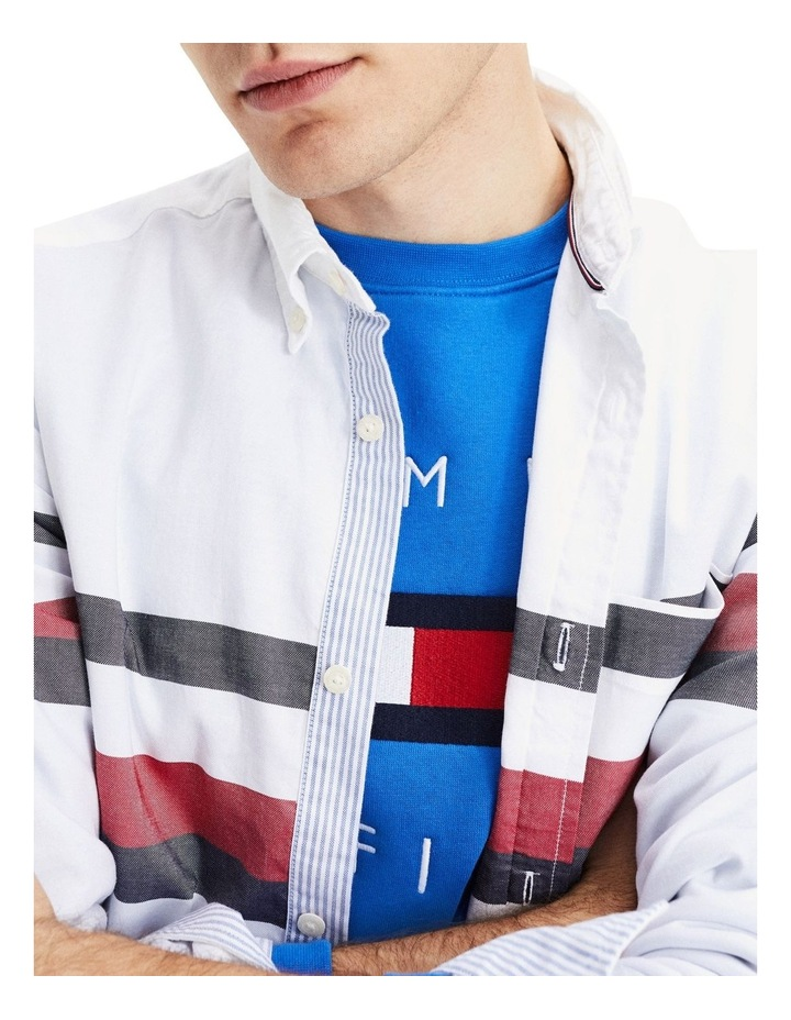 Slim Global Stripe Shirt image 4