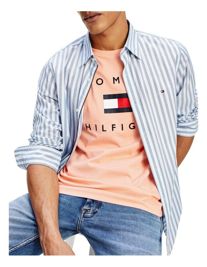 Slim Flex Houndstooth Long Sleeve Shirt image 2