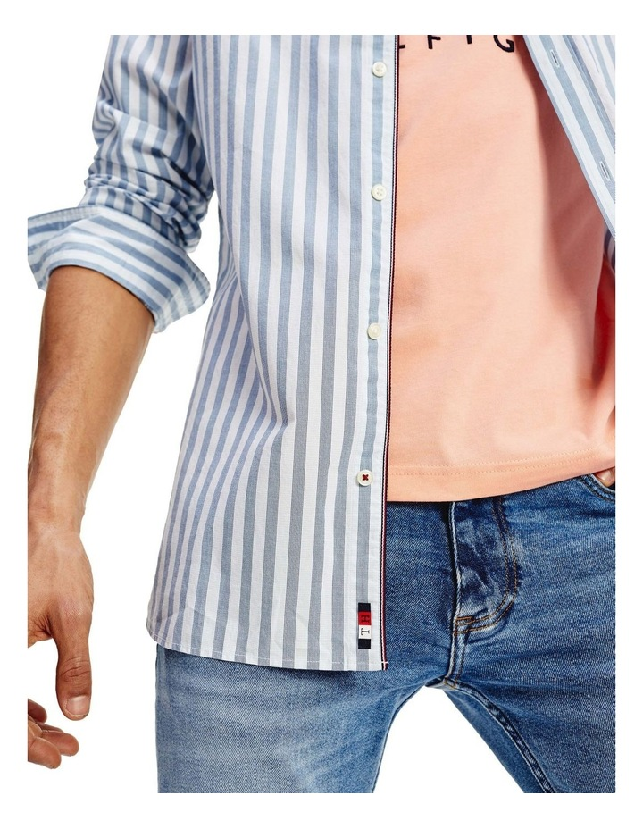 Slim Flex Houndstooth Long Sleeve Shirt image 4