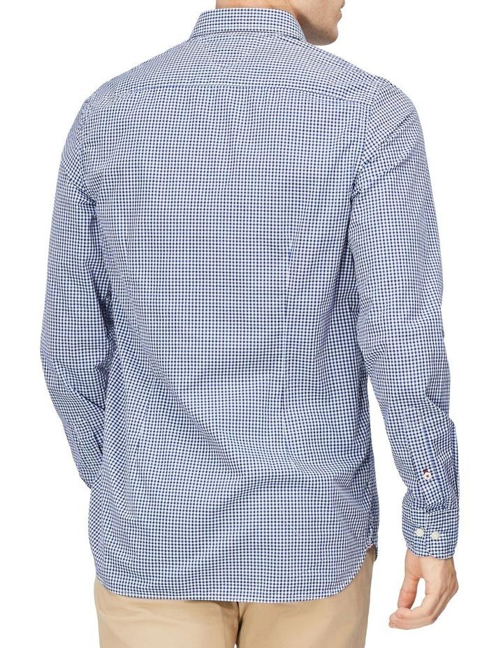Wcc Slim Mini Dobby Check Long Sleeve Shirt image 2