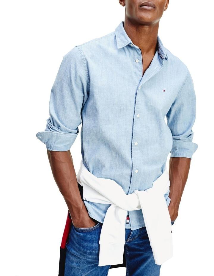 Flex Chambray Long Sleeve Shirt image 1