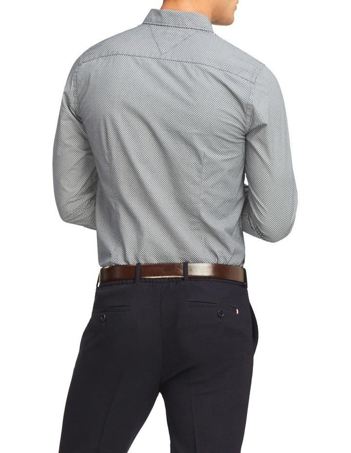 Wcc Slim Micro Flower Print Long Sleeve Shirt image 2